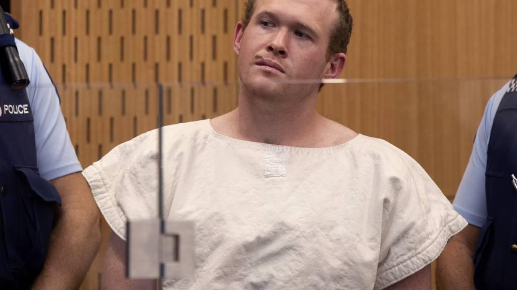 Attentäter von Christchurch plädiert auf schuldig