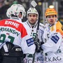 Stanislav Horansky (von links), Riccardo Sartori und Topskorer Dion Knelsen. Bild: freshfocus
