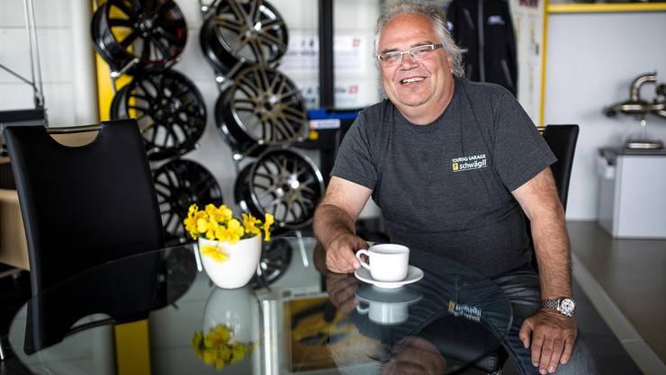 Christoph Schwägli: «Die Bergung von Elektroautos stellt uns vor völlig neue Herausforderungen. Ungefährlich ist das nicht.