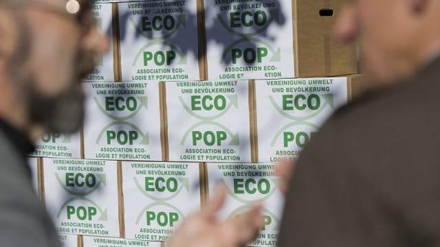 Die Nationalratskommission erklärt die Ecopop-Initative für gültig