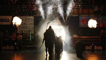 Schall und Rauch oder ein Feuerwerk? Mit dem Superfinal will Swiss Unihockey neue Massstäbe setzen.