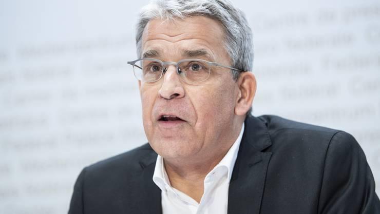 Christoph Berger ist Präsident der Eidgenössischen Kommission für Impffragen.