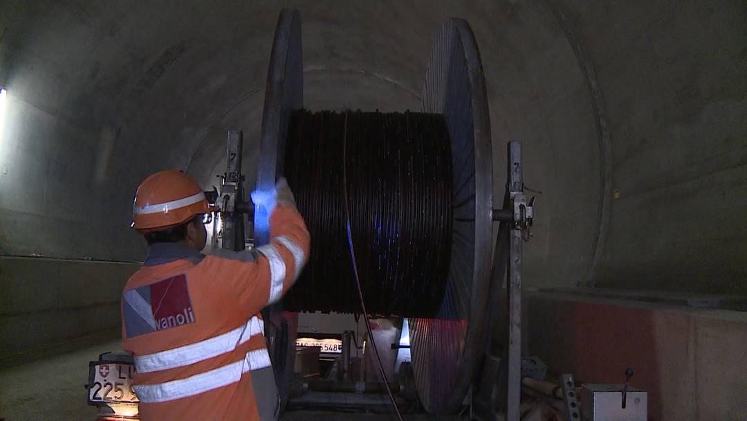 Der neue Bözberg-Bahntunnel ist bestens für Notfälle gewappnet