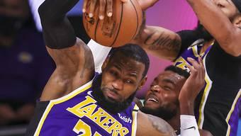LeBron James zeigte einmal mehr eine überragende Leistung
