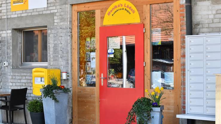 Monika's Lädeli in Niederbuchsiten war die erste Stelle, die als Postagentur zu arbeiten begann. Das war vor neun Jahren.