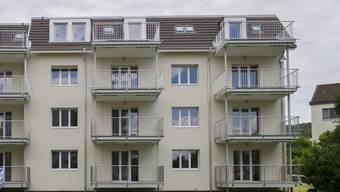 Die Wohnung soll in einem Mehrfamilienhaus am Steinackerweg gebaut werden. (Symbolbild)