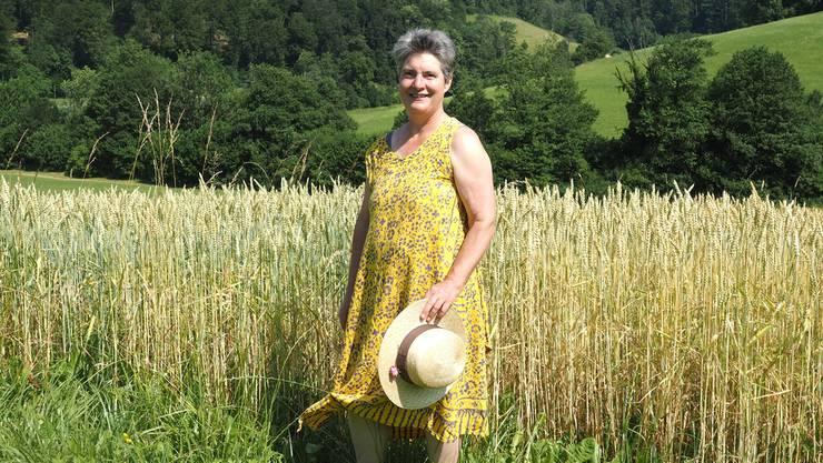Gertrud Häseli ist Bio-Bäuerin, Gemeinderätin und Grossrätin. In Wittnau führt sie zusammen mit ihrem Mann einen 20-Hektar-Betrieb.