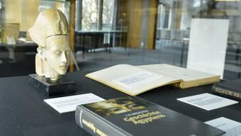 Die Thomas-Mann-Ausstellung in der UB gleicht einer Einführung in die Ägyptologie.