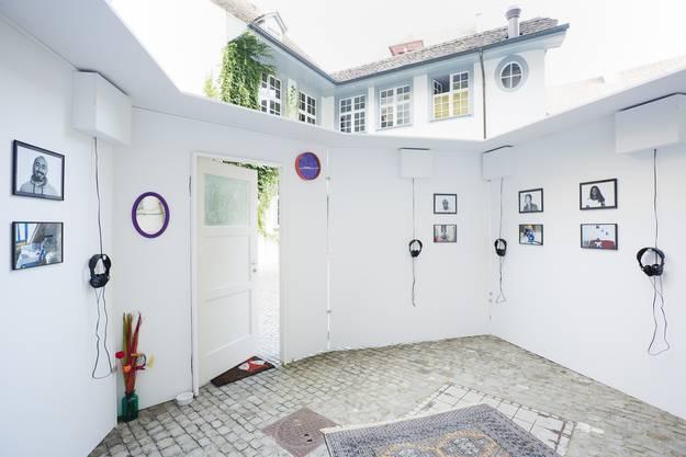 Sieht fast so aus, wie der Eingangsbereich eines Hauses