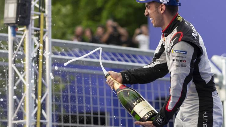 Erster Podestplatz im vierten Saisonrennen der laufenden Formel-E-Meisterschaft für Sébastien Buemi