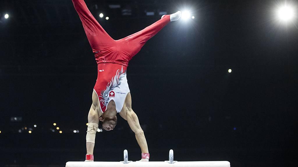 Pablo Brägger zeigte in der Qualifikation an den Europameisterschaften in Basel einen starken Wettkampf