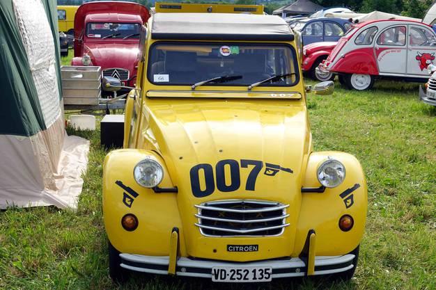 Der CV2 007, spielte im Bond-Film 'For your eyes only' eine wichtige Rolle und wurde zur Premiere des Streifens in einer Serie von 1000 Stück produziert (Bild ub)