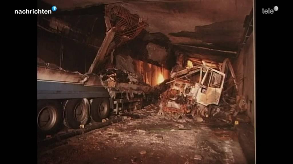 Lehren aus der Gotthard-Brandkatastrophe 2001