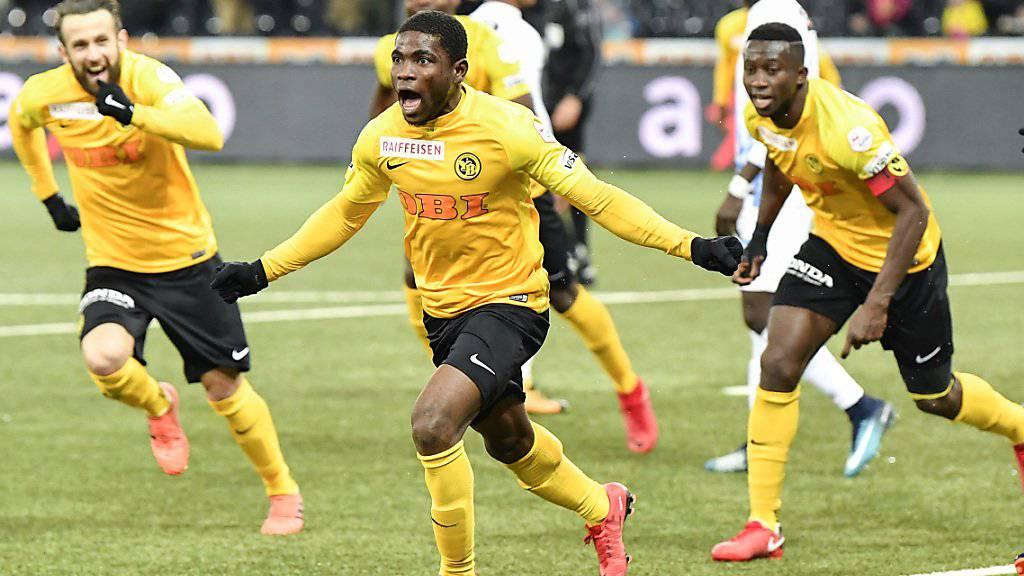 Roger Assalé schoss im Stade de Suisse den Siegtreffer