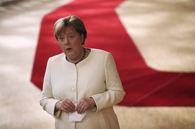 «Kann auch sein, dass es heute zu keinem Ergebnis kommt»: Angela Merkel zum Auftakt des dritten Verhandlungstages.