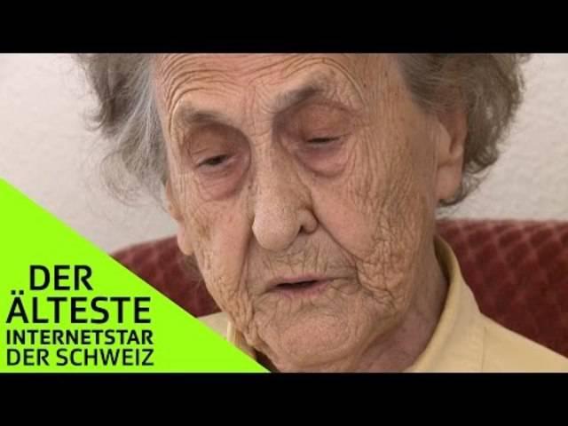 Besuch beim «ältesten Internetstar der Schweiz»: So reagiert Frau Hof-Meier auf die Kommentare aus dem Internet.