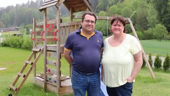 Gilbert Zwahlen und Nadine Blanc unterlagen mit ihrer Schulgeldforderung.Bild: Flurina Dünki