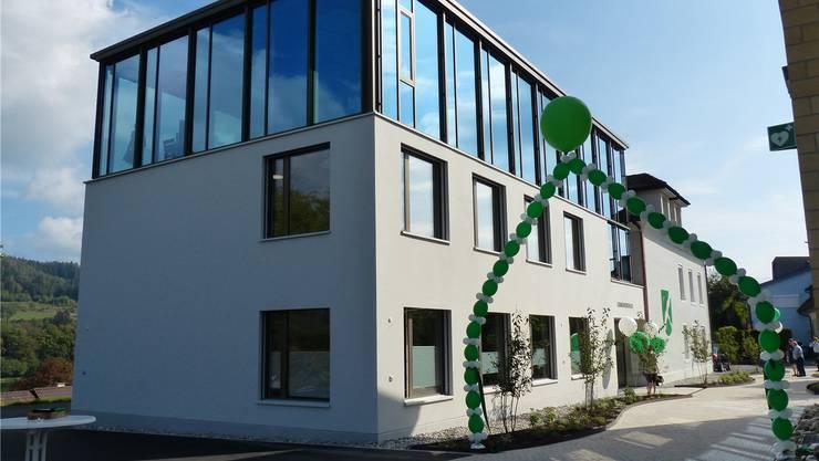 Das neue, alte Gemeindehaus von Sisseln ist der Stolz der Gemeinde. Ingrid Arndt