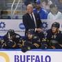 Buffalos Headcoach Ralph Krueger durchlebt mit seinem Team eine schwierige Phase