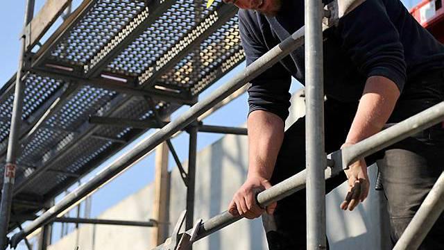 Bau-Umsätze legen im dritten Quartal zu (Archiv)