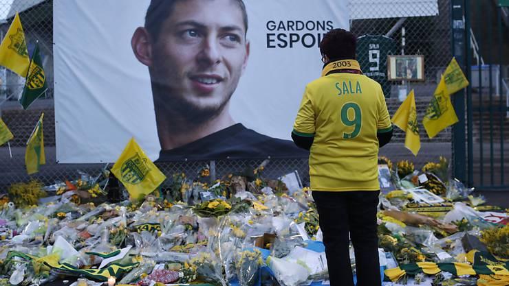 Am Freitag bestätigte die Polizei den Tod von Emiliano Sala. Fans des FC Nantes trauern um den argentinischen Fussballer