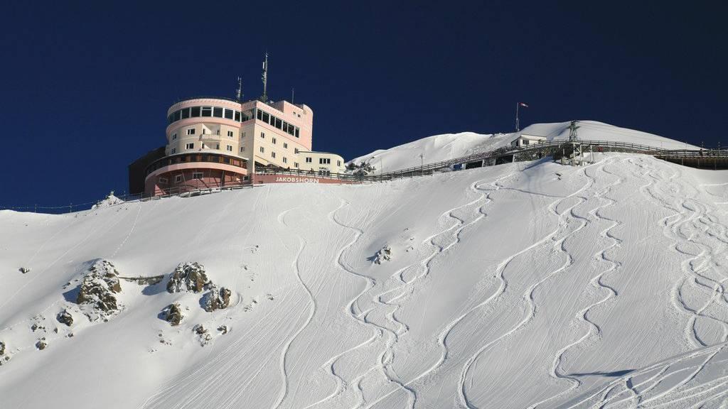 Das Jakobshorn in Davos