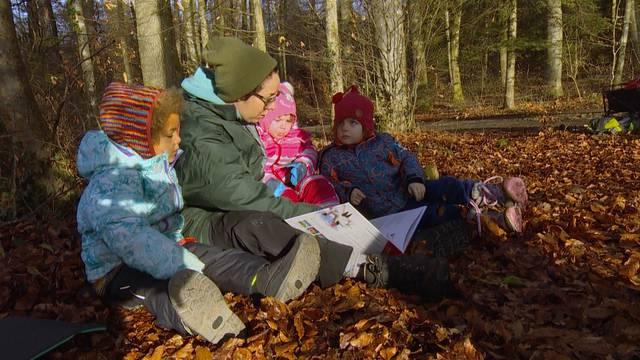 Nach viel Kritik: ein Besuch in der veganen Waldspielgruppe in Meisterschwanden
