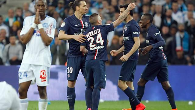 Wichtiger Sieg: Ibrahimovic und Co. jubeln in Marseille