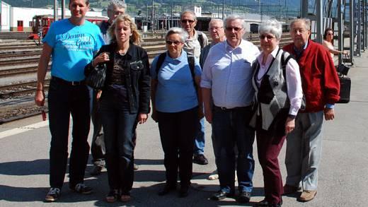 Gruppenfoto der EMCA-Reisegruppe