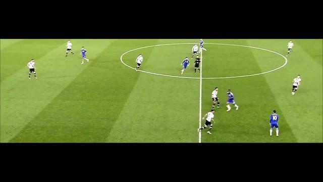 Eden Hazard vs Tottenham - Online Redaktion ausgeschnitten