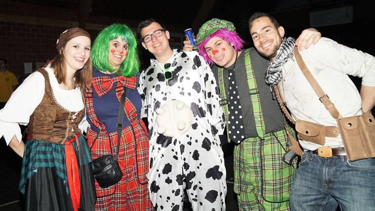 Wander- und sonstige Kostüme an der Schlossgeischter-Nacht.