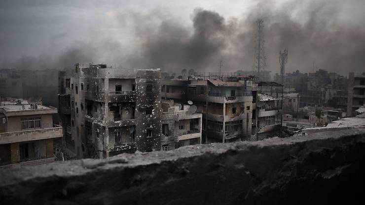 Die Kämpfe in Syrien dauern an. (Archiv)