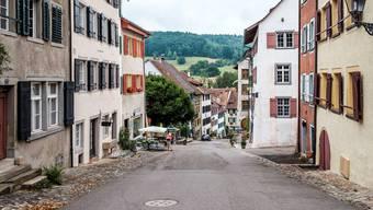 «Die Arbeit als Stadtammann in Kaiserstuhl ist speziell», sagt Ruedi Weiss, «weil hier jeder jeden kennt.»