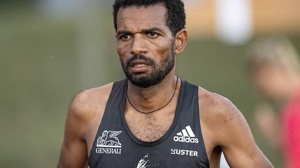 Tadesse Abraham steht als letzter Schweizer Athlet im Einsatz