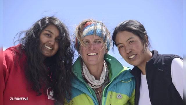Bergsteigerin Binsack eröffnet Spendenkonto