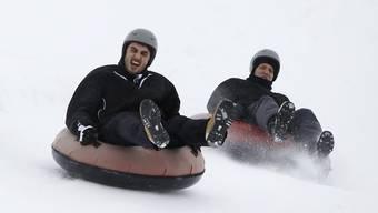 Die Engstligenalp bei Adelboden bietet bereits Snowtubing an. (Archiv)