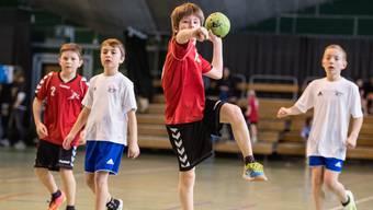 Im Baselbiet derzeit vielerorts nicht mehr möglich: Buben beim Handball-Training.