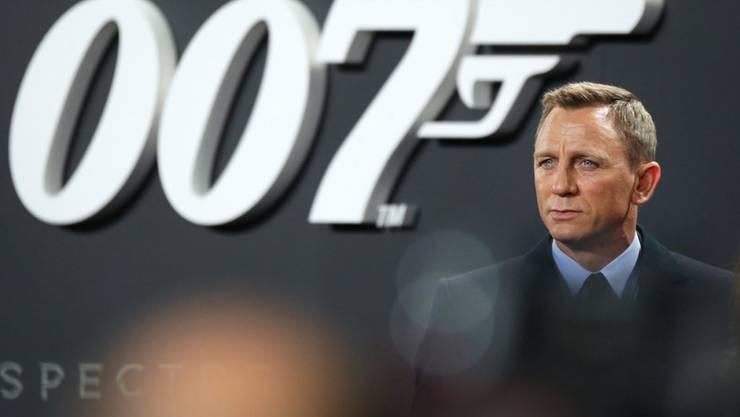 """Ein Herz für Flüchtlinge: James-Bond-Darsteller Daniel Craig (bei der """"Spectre""""-Premiere in Berlin am 28. Oktober)."""