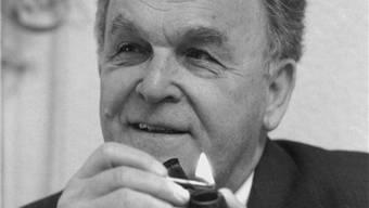Otto Stich legt seine Memoiren vor. om