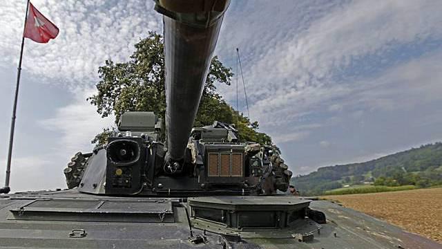 Ein Schweizer Panzer (Symbolbild)