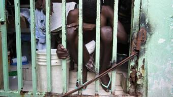 Gefängniszelle in einer Anstalt in der haitianischen Hauptstadt Port-au-Prince. (Archivbild)
