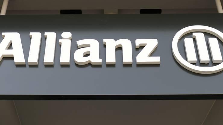 Das Logo der Allianz Suisse in Wallisellen (Archivbild).