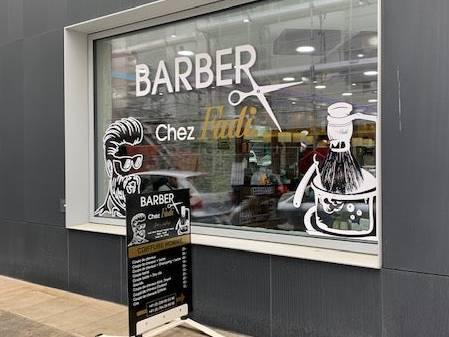 Der Inhaber des Salons «Barber Chez Fadi» fürchtet um die Zukunft seines Geschäfts.