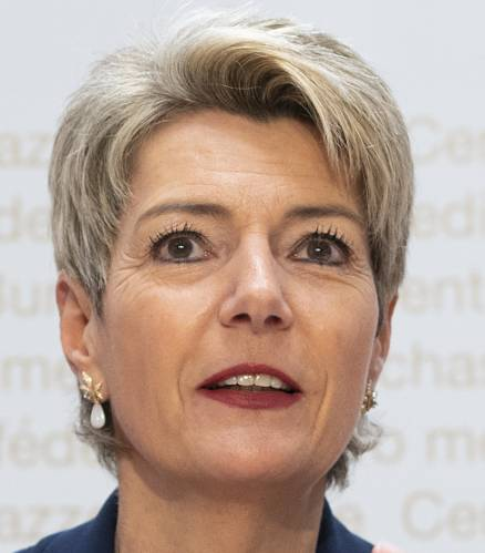 Karin Keller-Sutter, Bundesrätin