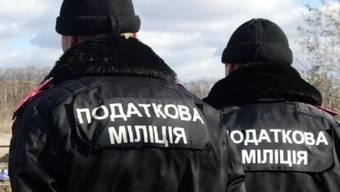 Ukrainische Polizisten im Einsatz (Symbolbild)