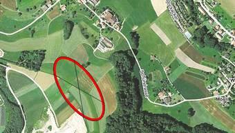 Die Erweiterung der Kiesgrube in Schmiedrued-Walde.