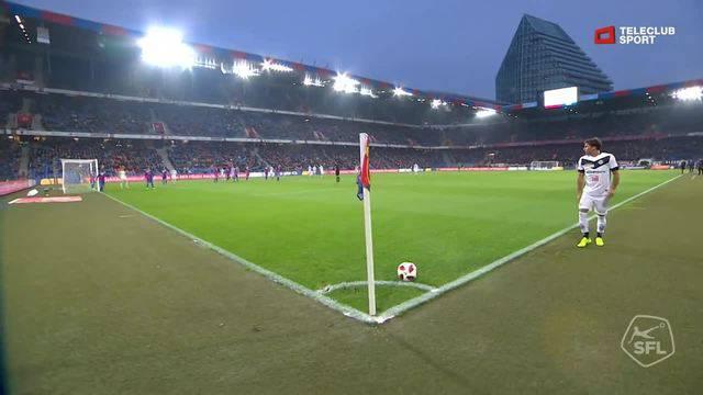 Super League, 2018/19, 13. Runde FC Basel - Lugano 2:1 Eigentor Ricky van Wolfswinkel