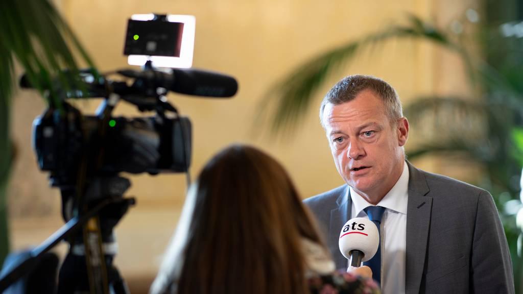 Bleibt noch «einige Monate» BDP-Präsident: Martin Landolt.