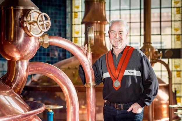 Für seine Verdienste rund um das Schweizer Bier hat er einen Orden erhalten.