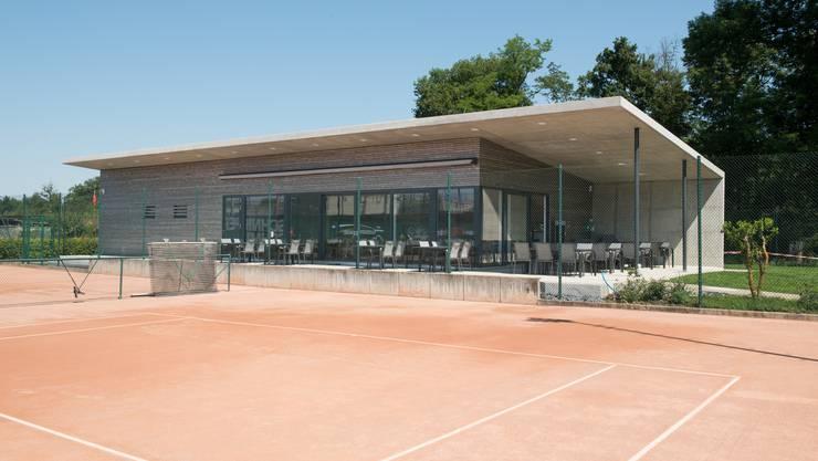 Der TC Muttenz konnte zu Saisonbeginn sein neues Klubhaus einweihen. Jetzt folgt die Jubiläumsfeier.